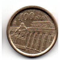 КОРОЛЕВСТВО ИСПАНИЯ 100 ПЕСЕТ 1994. ПАМЯТНАЯ. Национальный музей Прадо