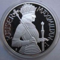 Австрия, 100 шиллингов, 1992, серебро, пруф