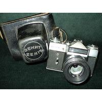 Фотоаппарат ZENIT-E с объективом HELIOS-44-2