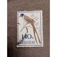 Уругвай. Птицы. Tijereta