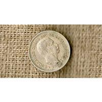 Люксембург 5 сантимов 1908 ///(ON)
