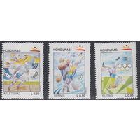 Гондурас Олимпиада 1992г.