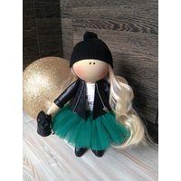 Кукла интерьерная, полностью ручная работа, рост 35 см