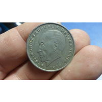 2 марки 1971F Германия