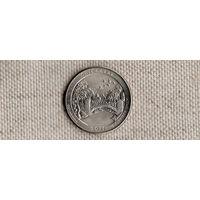 США 25 центов 2011/парки/Чикасо Оклахома(Ab)