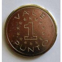 Итальянский жетон