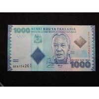 Танзания 1000 шиллингов 2010г UNC