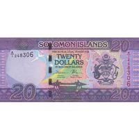 Соломоновы острова20 долларов 2017 (ПРЕСС)