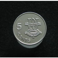 Соломоновы острова 5 центов 1996