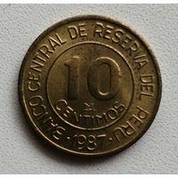 10 Сентимо 1987 (Перу)