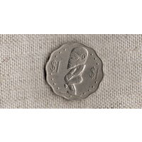 Острова Кука 1 доллар 1992 /исусство/средний портрет/(DY)
