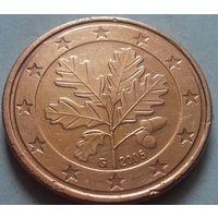 5 евроцентов, Германия 2005 G