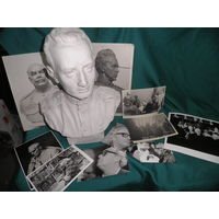 Скульптура Бюст Герой Советского Союза.Автор скульптор З.И.Азгур.