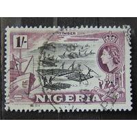 Нигерия 1953 г. Мост Джебба.
