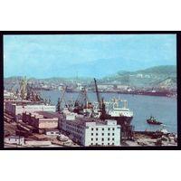 1976 год Находка Рыбный порт