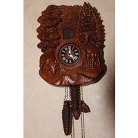 Часы     кукушка (дерево,германия)