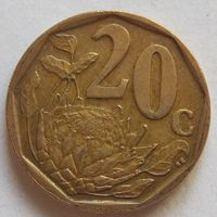 20 центов 2008 ЮАР