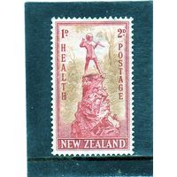 Новая Зеландия. Ми-281. Питер Пэн 2 + 1. Серия: Медицинские марки .1945.