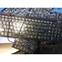 Клавиатура A4tech kx100 и Genius luxmate i220