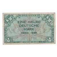 Германия 1/2 марки 1948 года. Нечастая! (2)