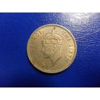 Малайя 20 центов 1948 г.-Georg VI