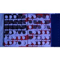 """Альбом-планшет для квотеров 25 центов США серии """"Штаты и территории"""". + 27 монет. распродажа"""