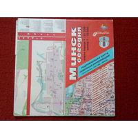Карты Минска