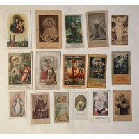 Католические памятки PAMIATKА 17 штук Цена за все