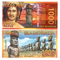 Остров Пасхи 1000 Ронго!