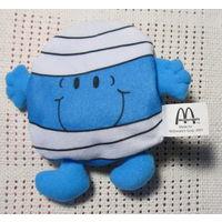 Mr.Bump и little Miss Naughty-игрушка МакДональдс двустороння