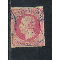 Ганновер Германия 1859 Георг V Стандарт #14