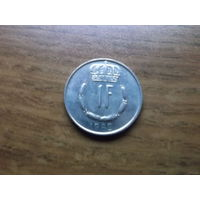 Люксембург 1 франк 1982
