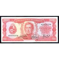URUGUAY/Уругвай_100 Pesos_nd (1967)_Pick#47.a_UNC-