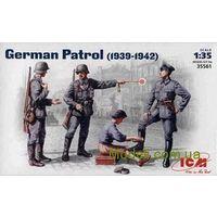Германский патруль, 1939-1942, сборная модель 1/35 ICM 35561