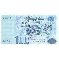 Алжир 100 динар 1992 UNC