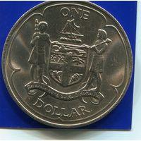 Фиджи 1 доллар 1969 UNC