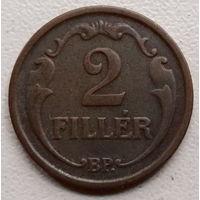 Венгрия 2 филлер 1939