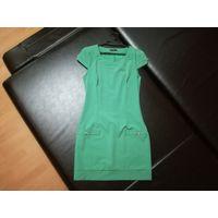 Зеленое платье по фигуре
