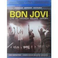 Bon Jovi. Live at Madison Square Garden.