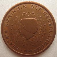 Нидерланды 5 евроцентов 1999 г.