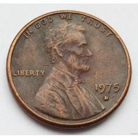 1 цент 1975 D