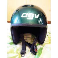 Шлем мотобольный, усиленный с автографом. ТОРГ!!!