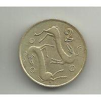 2 цент Кипр