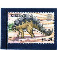 Кирибати. Mi:KI 1015. Динозавры. Стегозавр. 2006.