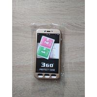 Xiaomi Redmi 4X защитный корпус (бампер) с защитным стеклом
