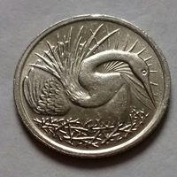 5 центов, Сингапур 1969, 1976 г.