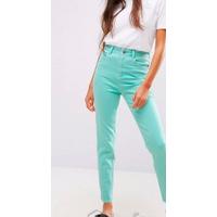 Новые высокие мятные джинсы Vero Moda,M,с этикетками