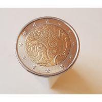 2 евро Финляндия 2010   150 лет финской валюте