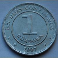 Никарагуа, 1 кордоба 2007 г.