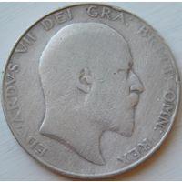 19. Великобритания пол кроны 1909 год, серебро*